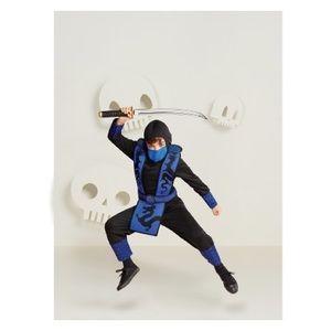 👻 LAST ONE! Kids blue ninja costume
